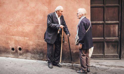 Matrimonio ancianos