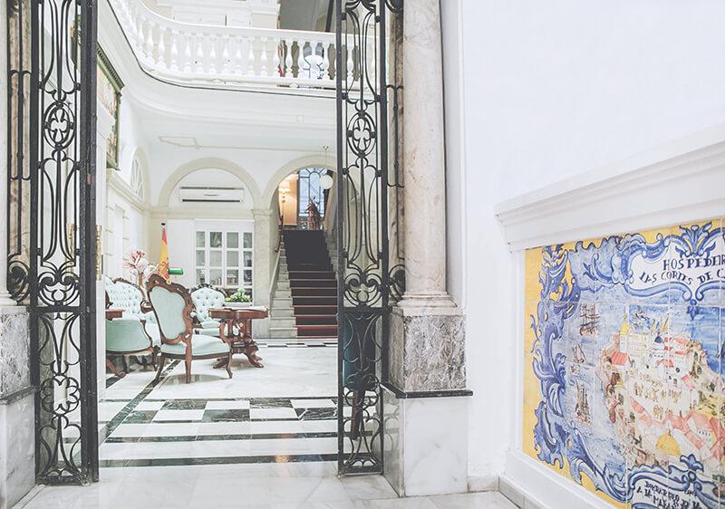 Hotel «Las Cortes de Cádiz», en Cádiz